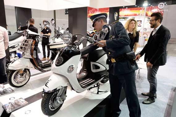 Motor Palsu, Razia Motor Palsu, EICMA 2013, Razia Motor di EICMA 2013