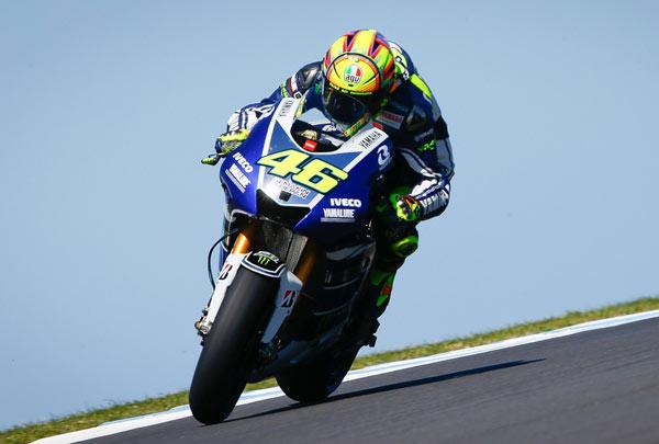 Yamaha Kuasai Podium MotoGP Phillip Island/Federal Oil