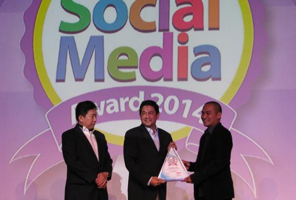 Federal Oil Dapatkan Social Media Award 2014/Federal Oil
