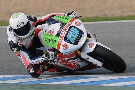 Tes Moto2 Jrez 11-13 Maret 2014, Xavier Simeon Tim Federal Oil Gresini Moto2, Daftar Pembalap Tercepat di tes Moto2 Jerez