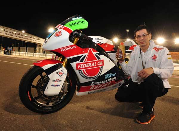 Rudy Hartono Husada PT Federal Karyatama, Federal Oil Moto2 Qatar, Federal oil Gresini Moto2, Moto2 Qatar