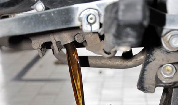 Ganti Oli Sepeda Motor