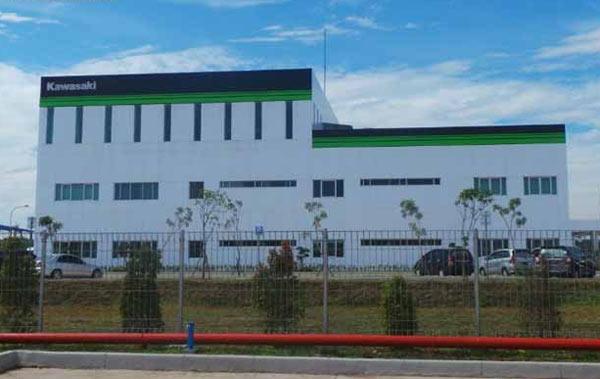 Pabrik baru Kawasaki di Cikarang, Kapasitas produksi Pabrik Baru Kawasaki di Cikarang
