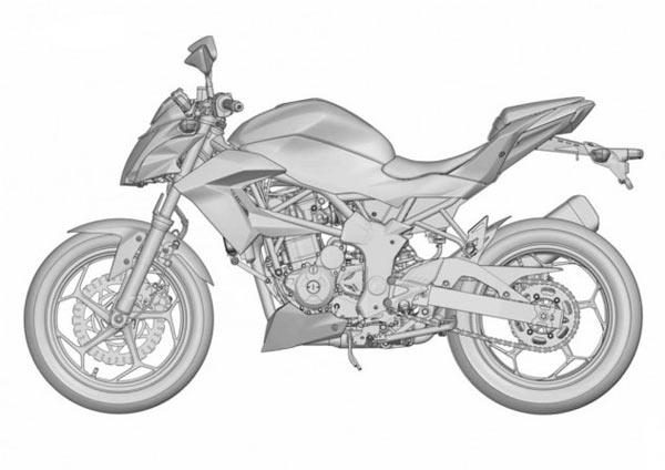 Kawasaki Ninja 250 RR Mono, Produksi Kawasaki Ninja 250 RR Mono, Kawasaki Z250SL, Kawasaki Ninja RR Mono Naked, Ninja 250 RR Mono Telanjang