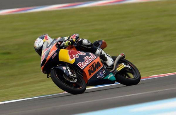 Jack Miller Dominasi Latihan Bebas pertama Moto3 Argentina, Jack Miller Pimpin FP2 Moto3 Argentina