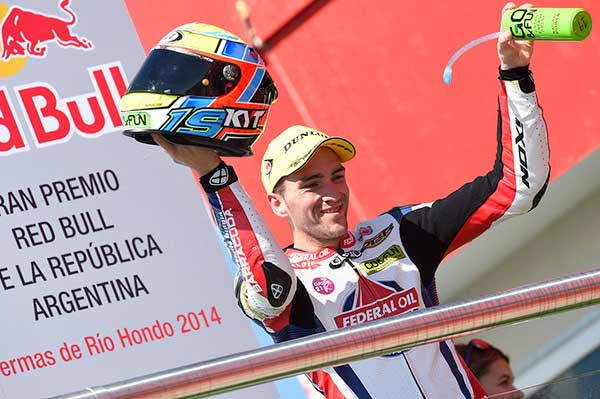 Xavier Simeon Moto2 Argentina, Xavier Simeon Moto2 Jerez, Tim Federal Oil Gresini Moto2, Moto2 News, Berita Moto2 Xavier Simeon, FOGM2