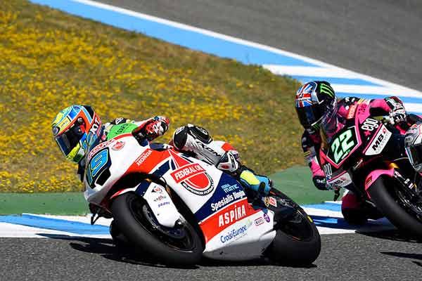 Berita Xavier Simeon, Berita Moto2, Moto2 Jerez Spanyol, Xavier Simeon BErtarung Keras di Moto2 Jerez