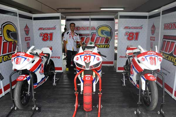 WDM Aspira Federal Oil, Tim Balap Federal Oil di IRS 2014, IRS 2014, Balap Kejurnas 250, Balap SuperSport 600