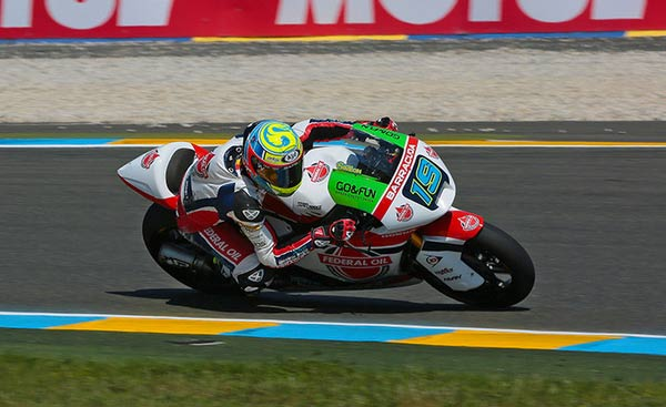 Moto2 News, Xavier Simeon Moto2 Le Mans, Federal Oil Gresini Moto2, Xavier Terjatuh di Moto2 Le Mans