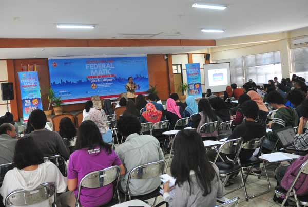 Journalism Clinic Federal Matic, Journalism Clinic Federal Matic di Universitas Padjajaran