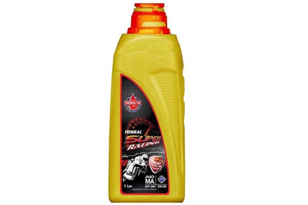 Oli Motor Federal Oil, Oli Motor Balap, Oli Motor yang Cocok untuk Motor Balap, Federal Oil Super Racing