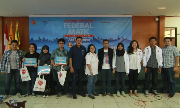 Journalism Clinic Federal Matic, Artikel Favorit Journalis Clinic Federal Matic Unpad
