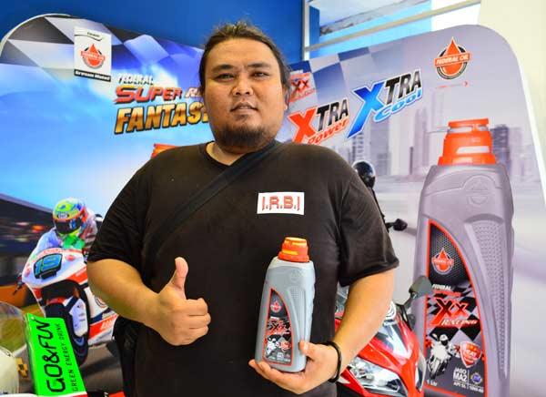 Chandra Ikatan Rider Byson Indonesia