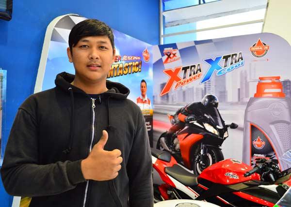 Dimas Yamaha V-Ixion Club Indonesia chapter Bekasi