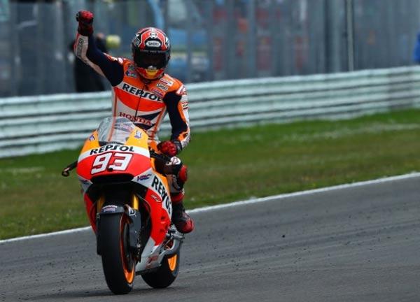 Rekor Baru Marc Marquez di MotoGP 2014, Marquez Cetak Rekor Baru di MotoGP Assen Belanda