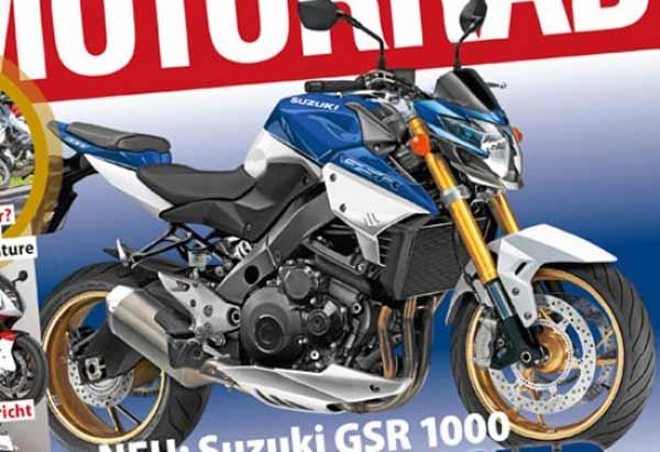 Suzuki GSR1000, Peluncuran Suzuki GSR1000