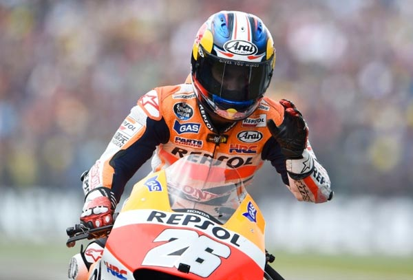 Kontrak Dapi Pedrosa Bersama Honda, Honda perpanjang ontrak Dani Pedrosa