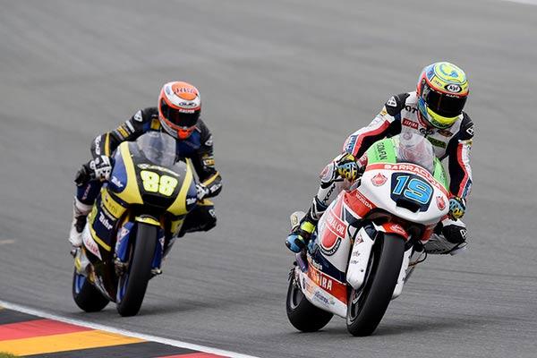 Xavier Simeon Moto2, Moto2 Jerman, Federal Oil Moto2 Jerman, Federal Oil Gresini Moto2