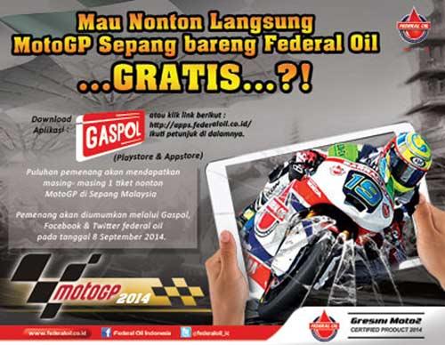 Nonton MotoGP Gratis, Nonoton Gratis MotoGP Sepang, Nonton MotoGP Sepang Gratis Federal Oil, Federal Oil Nonnton MotoGP Gratis, Photo Competition Federal Oil