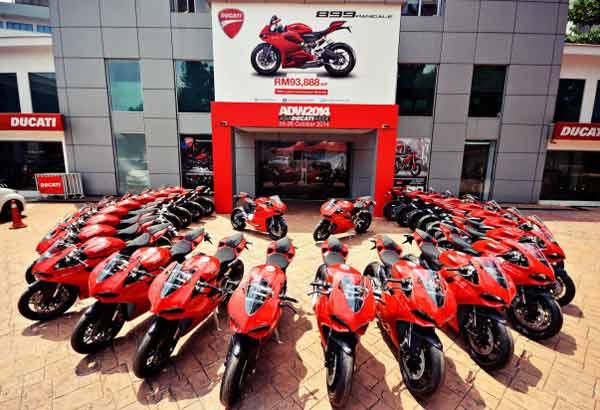 Ducati Panigale 899, Ducati panigale 899 Diproduksi di Thailand, Thailand Jadi Basis Produksi Ducati panigale 899