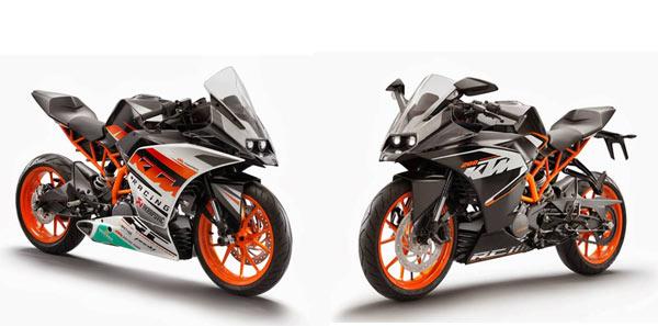 KTM RC 390, KTM RC 200, peluncuran KTM RC 390 dan KTM RC 200