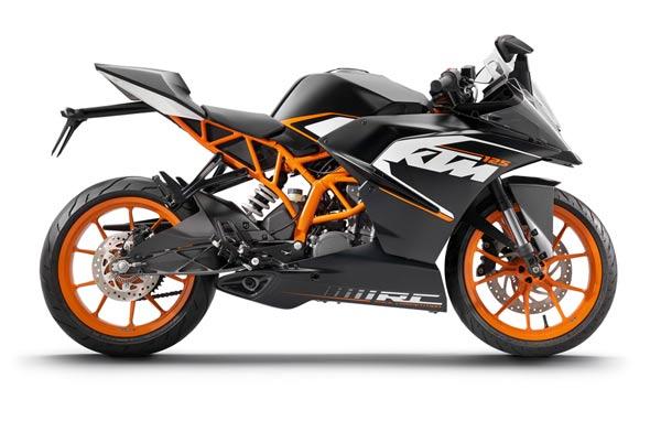 KTM RC125,  Peluncuran KTM RC125 2015, Spesifikasi KTM RC125, Harga KTM RC125