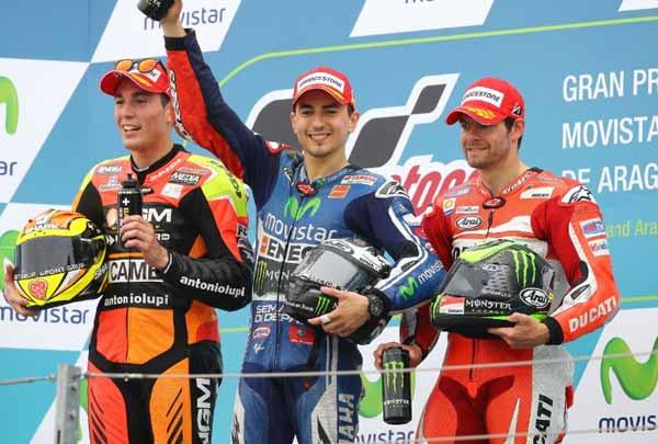 Hasil Lengkap Kelas MotoGP Sirkuit Aragon Spanyol/Federal Oil