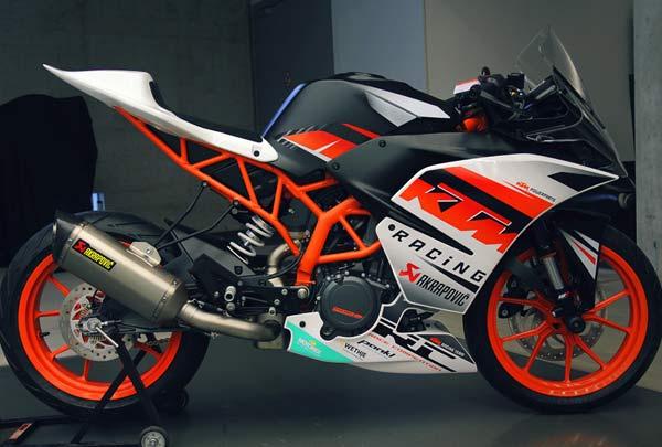 KTM RC390 Versi Racing Dilego Rp 123 Jutaan/Federal Oil