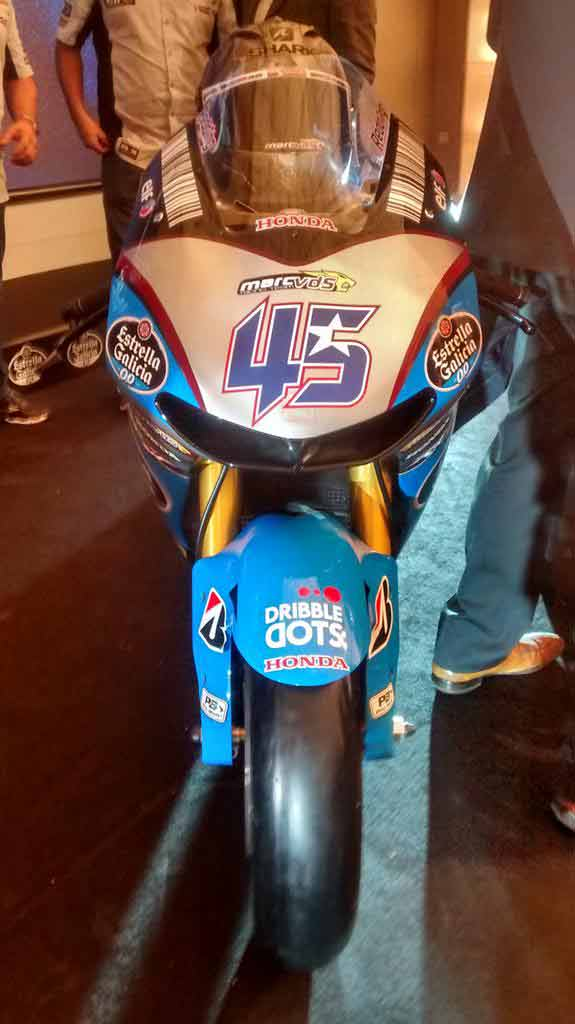 Intip Livery Balap Marc VDS Honda Tunggangan Scott Redding/Federal Oil