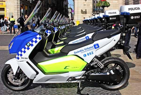 Keren, Motor Patroli Polisi Spanyol/Federal Oil
