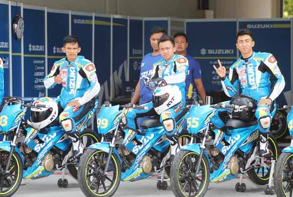 Tiga Perwakilan Indonesia Optimis Hadapi Suzuki Asian Challenge 2015/Federal Oil