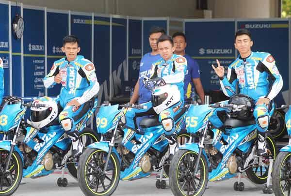 Tiga Perwakilan Indonesia Optimis Hadapi Suzuki Asian Challenge 2015/Federal Oil