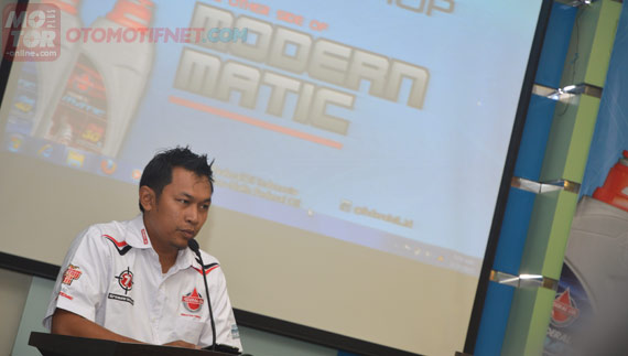 Heru Purwoko, Product Department Head PT Federal Karyatama, Federal Oil